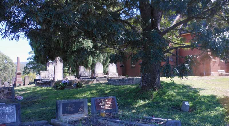 Cemetery St Stephen's Anglican Church, Kurrajong